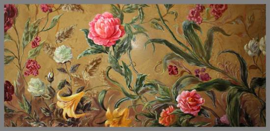 альфрейная живопись: